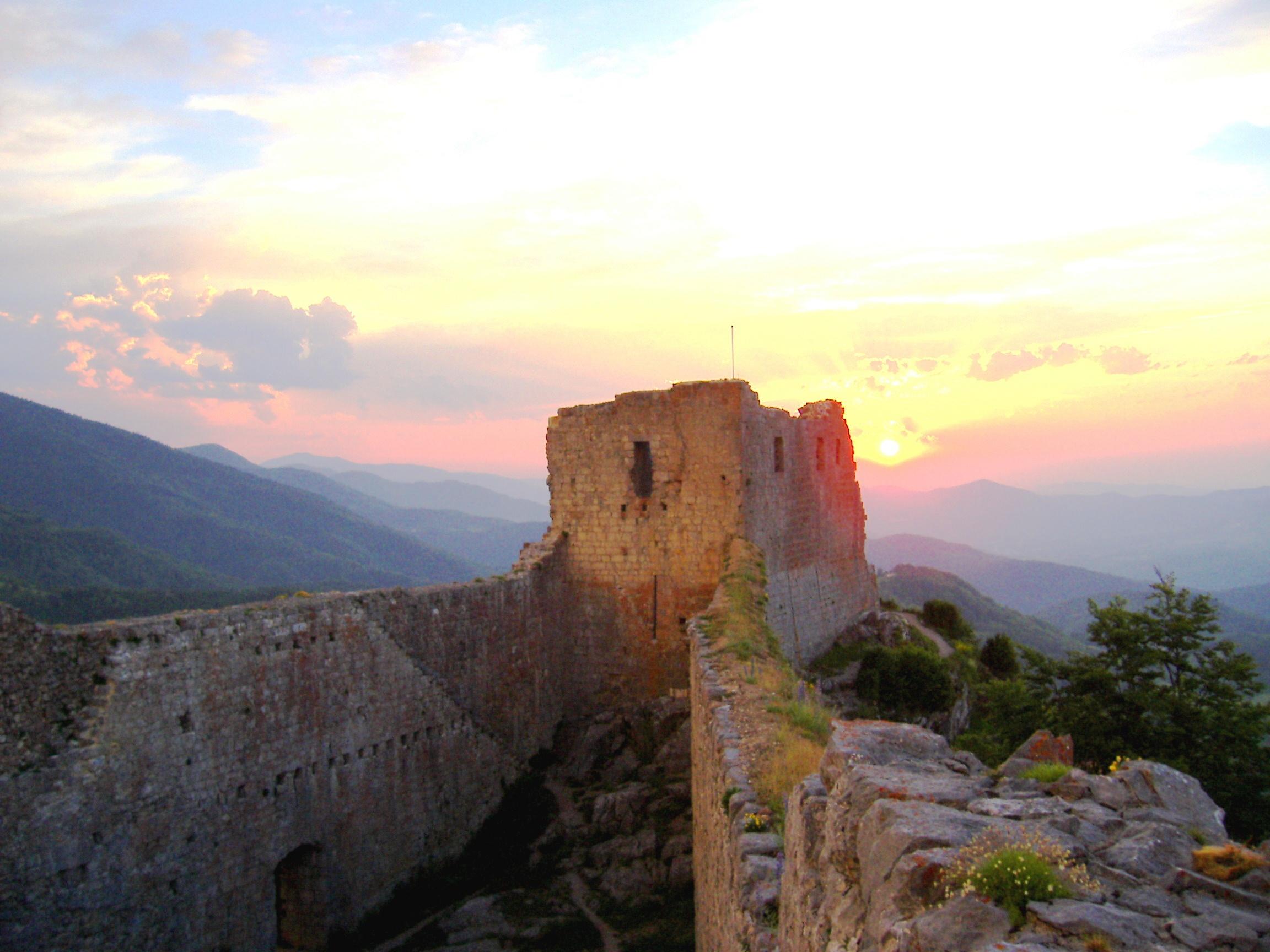 Le château de Montségur | TripnBike