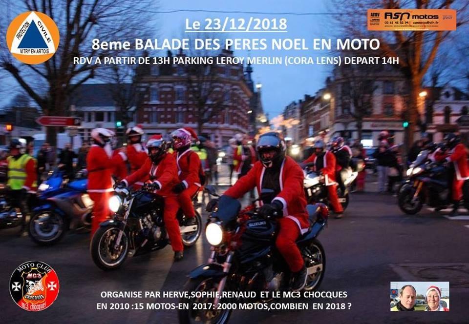 Cora Menu De Noel.Balade Des Peres Noel En Moto 62 Tripnbike