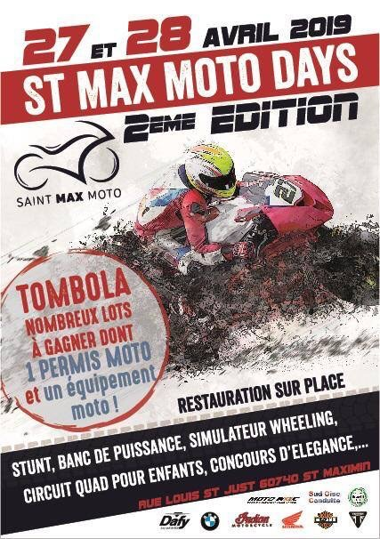 Saint Max Moto Days 2 ème Tripnbike