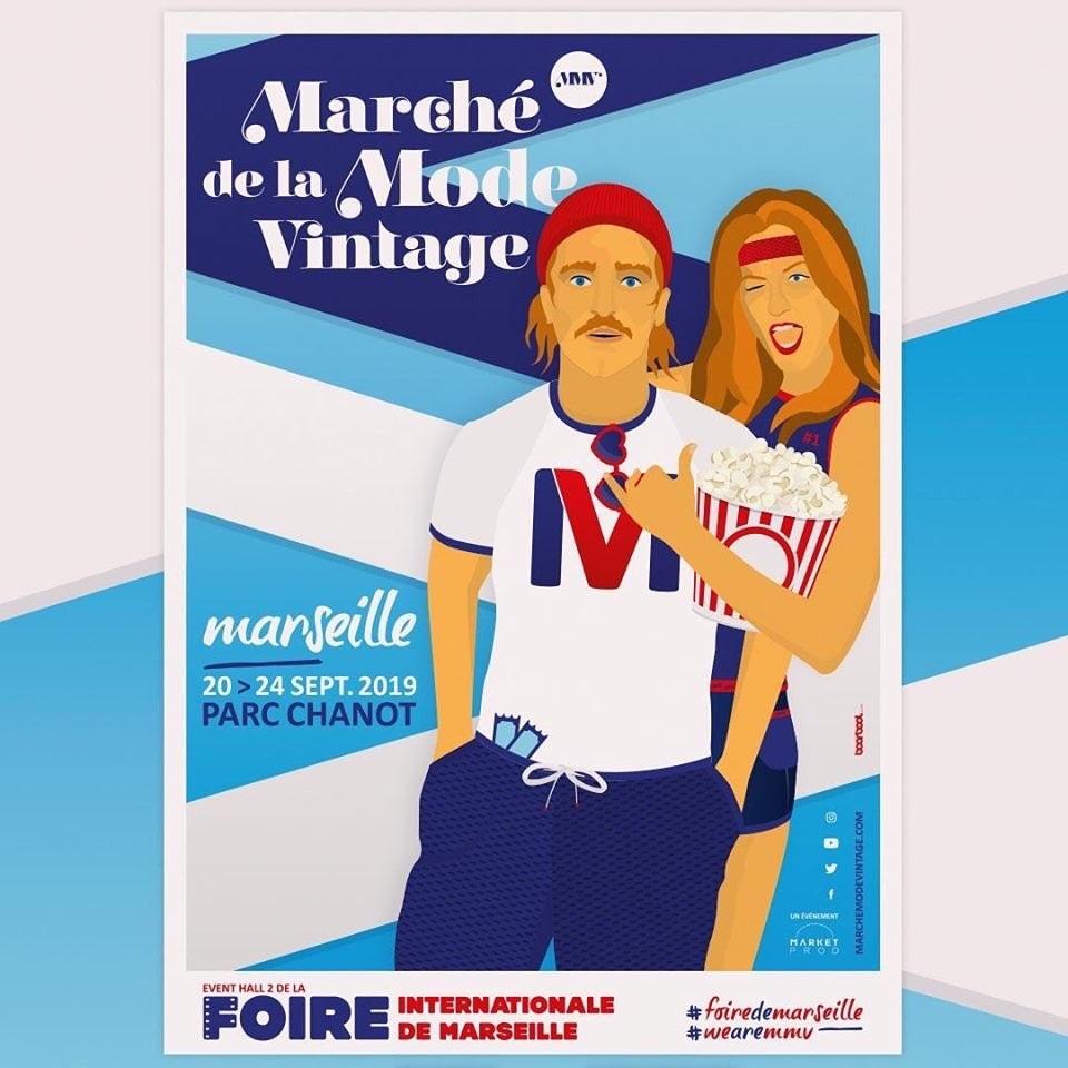 Le Marché de la Mode Vintage , Marseille